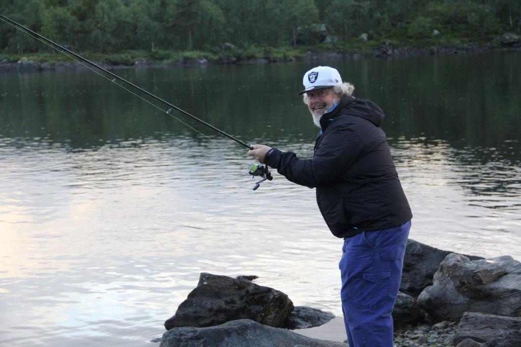 Här skall fiskas!