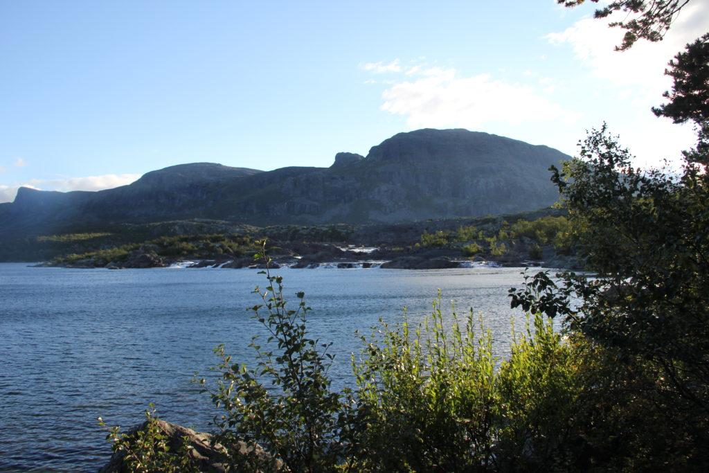 Forsen nedanför Stora Sjöfallet