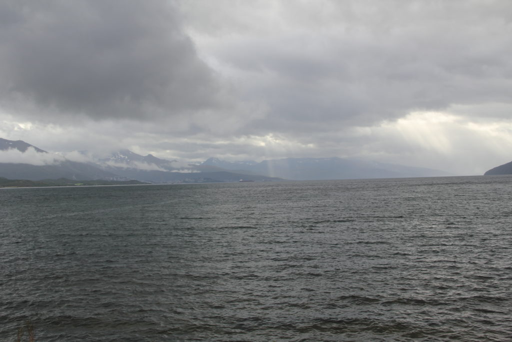 Närmre än så här kom vi inte Narvik den här gången